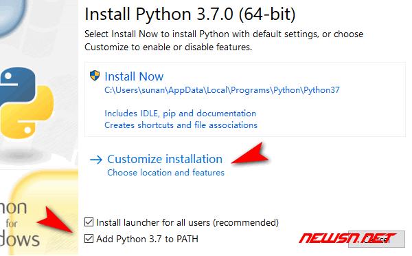 win系统,python如何升级自带pip版本? - python37-01