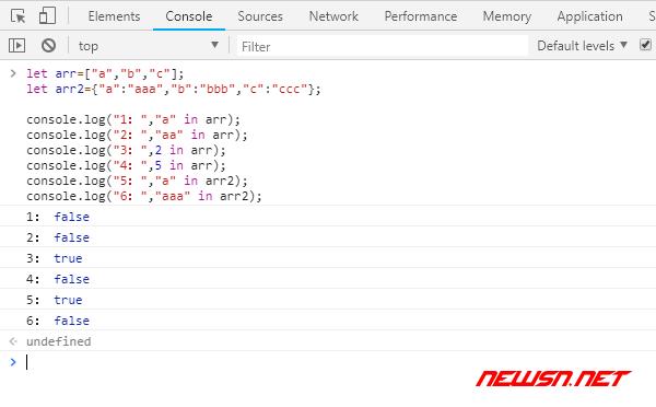 js如何判断数组含有某值,in/includes/inArray/indexOf方案对比 - node_in