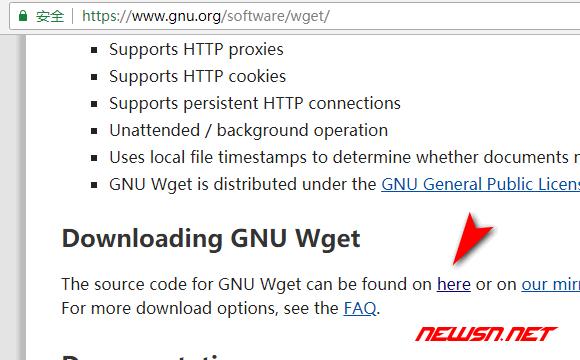 命令行下的实用小工具wget如何下载安装? - gnu_download