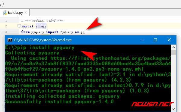 scrapy爬虫系列:页面数据查询的三种方式 - pip_install_pyquery